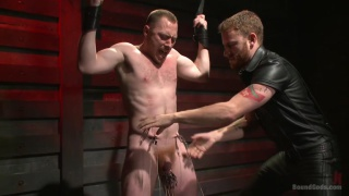 Damien Moreau is a cock slave in this dungeon