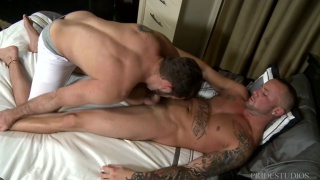 jake gives marxel a full-body massage and more