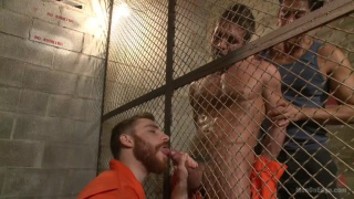 Alexander Gustavo bound and cock edge by 2 perverts