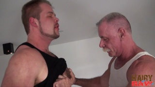 silver daddy gets boned raw