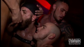 live gang bang filmed at black party in NYC