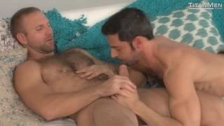 Tom Wolfe fucks Dario Beck in morning wood