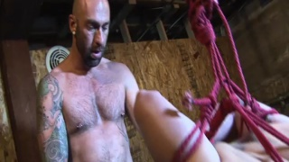 luke bennet tied up and fucked by drew sebastian