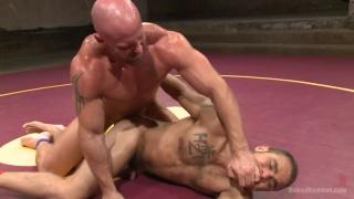 brock avery vs mitch vaughn wrestling naked