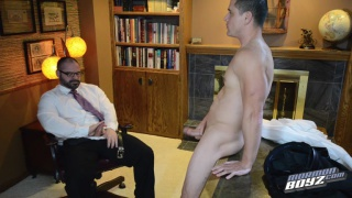 new missionary strips naked for his inspection