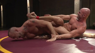 naked wrestlers jessie colter vs mitch vaughn on the mats