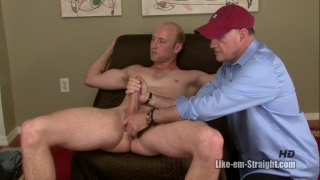 bald dudes gets sucked off by a daddy