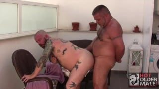 uncut daddy bears fuck in ibiza
