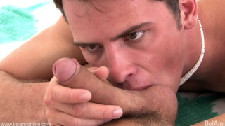 billy wakes up with morning wood