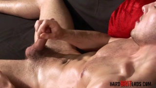 jack's got a fit body and uncut cock