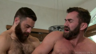 Tommy Defendi fucks hairy bottom Jake Jennings