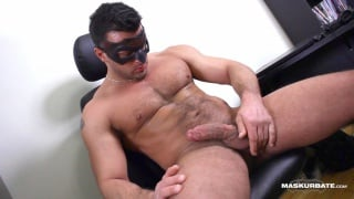 straight hunk jeremy's jack-off audition