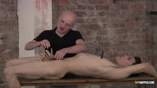 master kieron plays with hung boy toy
