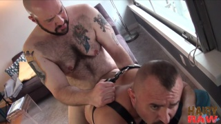 leatherboy wants his daddy's raw cock