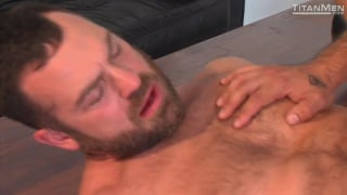 sexy bearded ray nicks bottoms for alessio romero