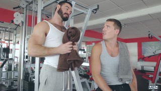Jessy Ares fucks cute bottom Theo Ford