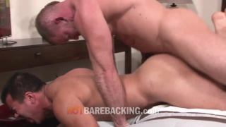 Shay Michaels bare fucks Rick Romo