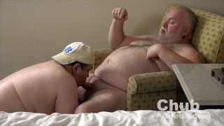 big-bellied daddies fucking around