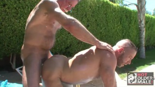 shay michaels fucked by grey-haired daddy