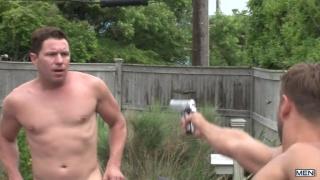Jack King fucks Bobby Clark & Travis James in retribution