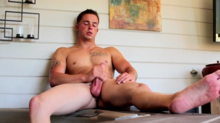 handsome jay has a thick cock