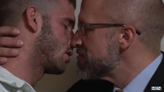 Dirk Caber fucks furry bottom Jimmy Fanz