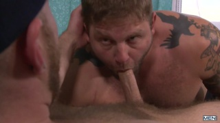 Colby Jansen and Deviant Otter flip flop fucking