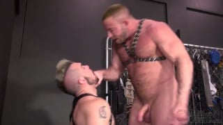 Shay Michaels gives Aarin Asker a rough initiation