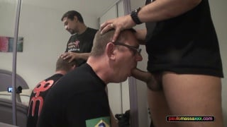 william has only fantasized about sucking paulo masso's huge cock