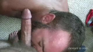 sexy aussie daddy gets cub's raw dick