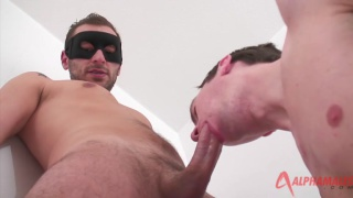 swedish guy has sex with masked stud