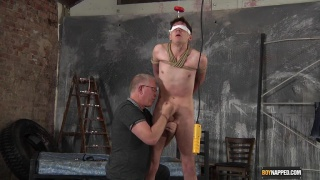 master aims to drain every drop of cum from his boy's cock