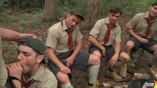zeb atlas screws 4 boy scouts on camping trip
