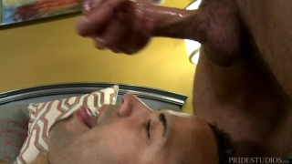 Andrew Justice fucks latino bottom Emanuelk Rosado