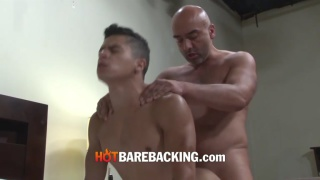 bald daddy bare fucks latin bottom