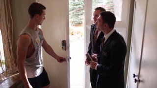 mormons are sorry they knocked on this door