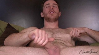 furry ginger stud with chiseled body