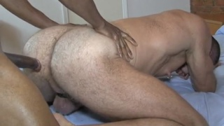 daddy loves this monster black dick in his hole