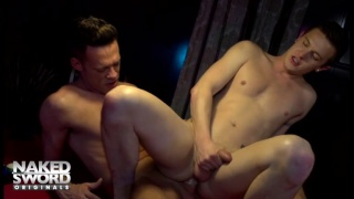 using levi madison's 9x6 monster cock