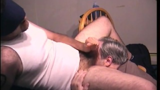 stocky straight boy gets blindfolded head