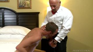 older gentleman picks up lad in a bar
