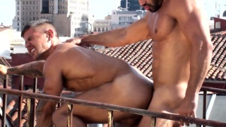 bulgarian bodybuilder bottoms for argentinian hunk
