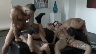 alessio romero in bareback fourway