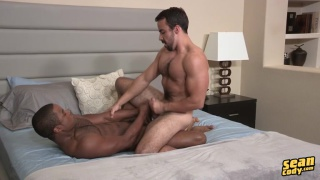 black hunk landon is back at sean cody