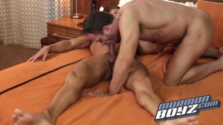 hunky mormons fuck in hotel