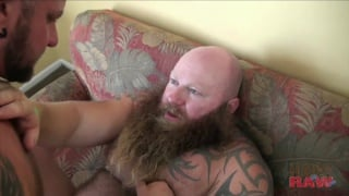 raw fucking a big bad bearded bear