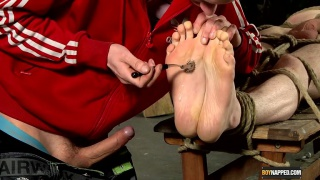 fucking a slave's feet