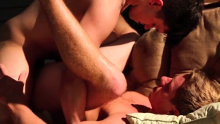 Jake Bass & Justin Matthews swap fucks