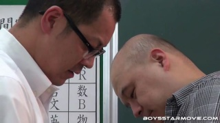 two japanese dads swapping head