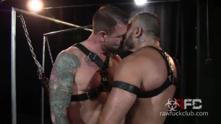 rocco steele breaks in bareback virgin Alessio Romero